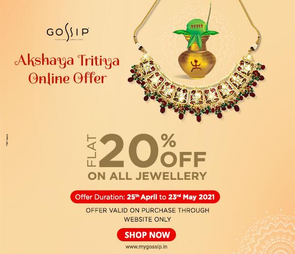 Gossip Akshaya Tritiya Offer_20%